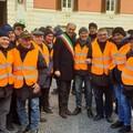 Agricoltura in ginocchio, gilet arancioni in marcia anche da Andria. C'è il sindaco Giorgino