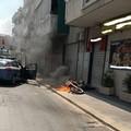 Fugge ad un posto di controllo della Polizia di Stato motociclista denunciato a piede libero
