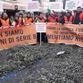 Roma si colora di arancione, la crisi agricola arriva a Montecitorio