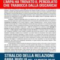 """Arpa Puglia, Di Bari (M5S):  """"Percolato fuoriesce dalla discarica Daneco """""""