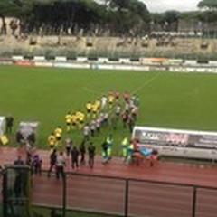 Viareggio - Andria 1 - 0, azzurri beffati nel finale.