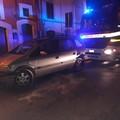 Incidente su via Porta Nuova angolo via Magellano: pericolo per un palo dell'illuminazione