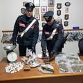 Cinque mercanti di droga arrestati ad Andria dai Carabinieri