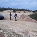 Finanza sequestra discarica abusiva in contrada Zagaria. FOTO e VIDEO