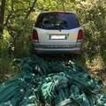 Auto rubate pronte per compiere colpi, ritrovate a ridosso di Castel del Monte. Il VIDEO