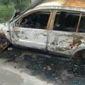 Auto cannibalizzate e incendiate rinvenute dai Federiciani. LE FOTO