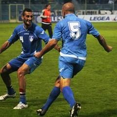 Andria - Carrarese 2-2: ennesimo pareggio degli azzurri