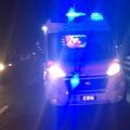 43enne ferito in incidente automobilistico sulla strada tangenziale