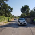 Incidente stradale nei pressi del Santuario del SS. Salvatore