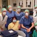 Da nord a sud tutti uniti contro il Covid: il saluto degli infermieri di Brescia al centro Zenith di Andria