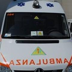 Impatto frontale in Via Vecchia Spinazzola: cinque feriti