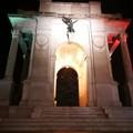 """Grande guerra: CasaPound e  """"15-18 """", luci tricolori sui monumenti per la  """"battaglia del solstizio """""""