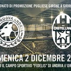 Pre match Nuova Andria - Castellana: rosa al completo per la sfida