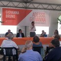 Festa di apertura del comitato elettorale di Sabino Zinni e Giovanna Bruno