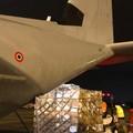 Altro materiale sanitario giunto ieri sera all'aeroporto di Bari-Palese