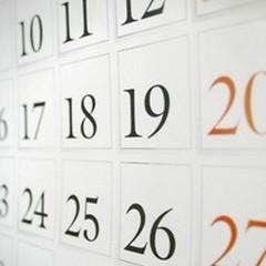 Anno nuovo calendario nuovo