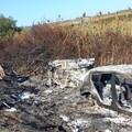 Auto rubate ad Andria ritrovate distrutte alle foci dell'Ofanto