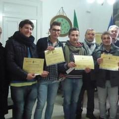 Consegnati gli attestati agli studenti andriesi per il Premio della Legalità