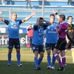 Andria - Benevento 1-1: tanto rammarico per gli azzurri