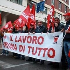 I sindacati della Bat manifestano a Barletta