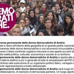 Ad Andria la Conferenza delle Donne Democratiche