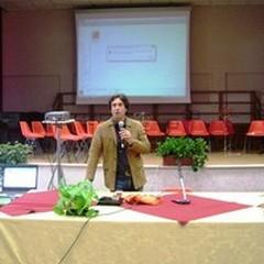 Giampiero Finocchiaro ospite dell'Istituto Comprensivo «Verdi-Cafaro»