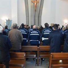 San Sebastiano, la Polizia Locale festeggia il proprio Patrono