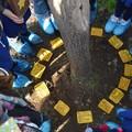 """Giornata della Memoria all'I.C.  """"Verdi-Cafaro """": posizionate Pietre d'Inciampo nel cortile della scuola"""