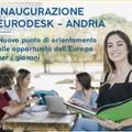 Mercoledì 27 marzo inaugurazione di Eurodesk - Andria alla presenza del presidente nazionale Ramon Magi