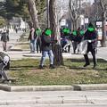 """Gli studenti dell'  """"Industriale """" puliscono le strade per un'azione di Cleanup"""