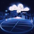 Coronavirus, la fumettista Zagaria: «Ecco la piazza della mia città ormai privata della sua compagnia»