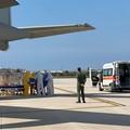 Coronavirus: trasportati in aereo in Puglia due pazienti dalla Lombardia