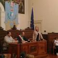 """I coristi della scuola elementare """"Riccardo Cotugno"""" a Palazzo di Città. Video dell'esibizione live"""