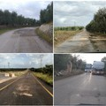 Lavori in corso: pericolo per la viabilità e tanti disagi sulla provinciale Andria-Canosa di Puglia
