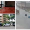 Piogge e temporali: tromba d'aria e strade piene d'acqua ad Andria