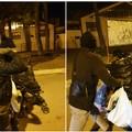 Rischia di finire in una aggressione il furto di vestiti usati dai cassonetti situati per strada