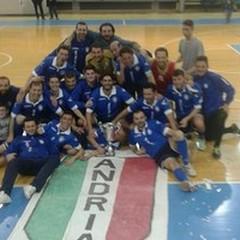 """Il Futsal Andria batte il Locorotondo e si laurea  """"Campione di Puglia """""""