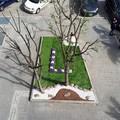 Arriva la banca nel Quartiere Europa, ecco il giardino
