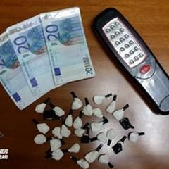 Spaccia droga nei pressi di Gravina: arrestato 24enne andriese