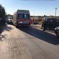 Due feriti gravi per incidente stradale tra auto e scooter