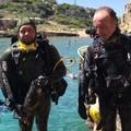 Il Centro Subacqueo di Andria ripulisce il fondale marino di Cala Incina