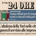 """Montaruli:  """"Aumenti tassa rifiuti ad Andria, Il Sole 24 Ore conferma i dati di Unibat di luglio """""""