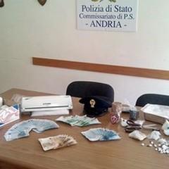 Un latitante, droga e soldi: operazione della Polizia di Andria