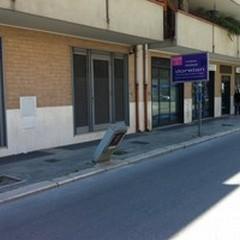 Viale Venezia Giulia: colonnina pericolante dell'Enel