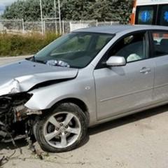 Incidente sulla Trani-Andria, un ferito