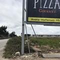 Andria-Trani, occhio alla strada... ed al cartellone pubblicitario