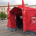 #Cimettiamoletende, in piazza Catuma la Flai Cgil
