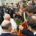 Giorgino e don Agresti dal Papa per la