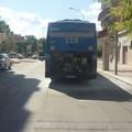 Prende fuoco bus della STP dell'Andria Trani: tanto panico ma nessun ferito