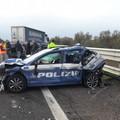 Incidente sull'A/14: due agenti della Polstrada ricoverati al